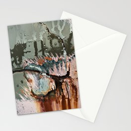 Corrosion Colors I Stationery Cards