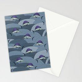 Swordfish Espadon | Pattern Art Stationery Cards