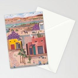 Southwest Adobe Neighborhood Stationery Cards