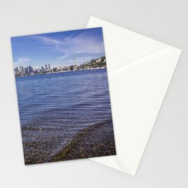 Lake Union and Seattle Skyline Stationery Cards
