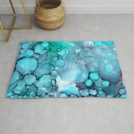 Daydreaming 2 Abstract Painting Rug