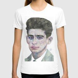 FRANZ KAFKA - watercolor portrait T-shirt