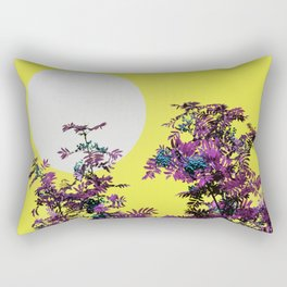 Yellow sky and rowan tree Rectangular Pillow