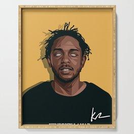 Kendrick Lamar Serving Tray
