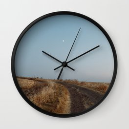 Summertime Road Wall Clock