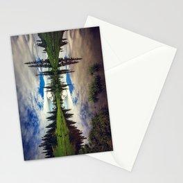 Mountain Reflections Mt Rainier Washington Stationery Cards