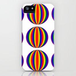 Gay balls iPhone Case