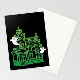 Haunted Victorian House Stationery Cards