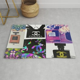 CC No.5 Fashion Collage Rug
