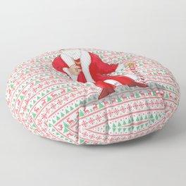 Big Pimpin' Santa Floor Pillow
