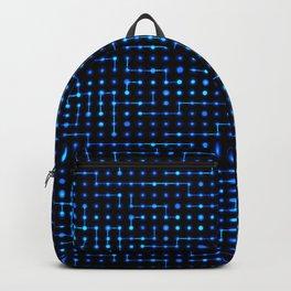 Sci-Fi Tech Circuit Backpack