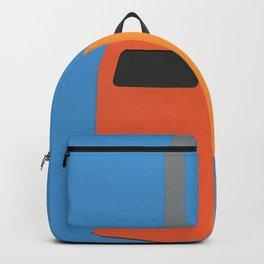 Orange Trash Can Backpack