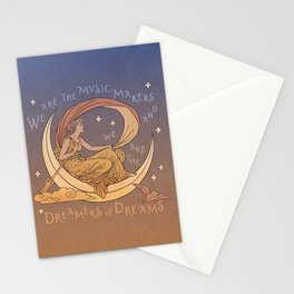 Dreamer of Dreams Stationery Cards