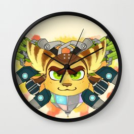 Never Outgunned Wall Clock