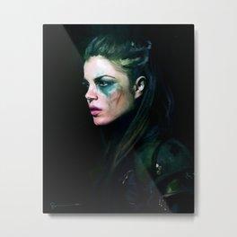 Octavia Blake - The 100 Metal Print