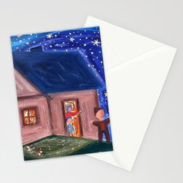Josef Capek - Stars - Digital Remastered Edition Stationery Cards