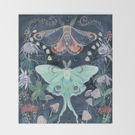 Luna Moth Decke