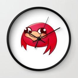 Uganda Knuckles Wall Clock