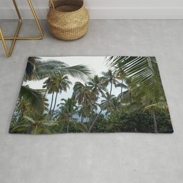 Place of Refuge Palm Trees Rug