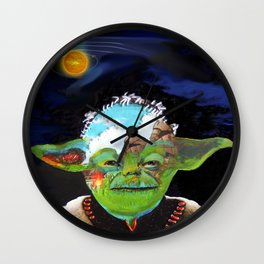 Forever jedi Wall Clock