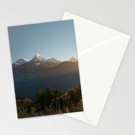 Sunrise on Machhapuchhare, Nepal Stationery Cards