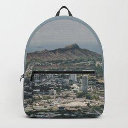 Diamond Head Town - Hawaii Backpack
