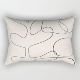 Abstract Line II Rectangular Pillow