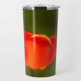 La tulipe orange Travel Mug