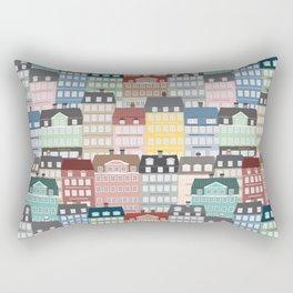 Wonderland of Happy People Rectangular Pillow