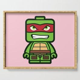 Chibi Raphael Ninja Turtle Serving Tray