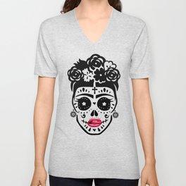 Frida Lips Unisex V-Neck