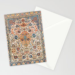 Isfahan Antique Central Persian Carpet Print Stationery Cards