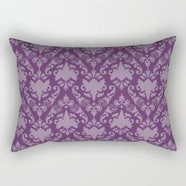 Grape Damask Rectangular Pillow