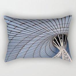 ARCH ABSTRACT 9: Khan Shatyr Center #2, Astana Rectangular Pillow