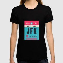 Baggage Tag A - JFK New York John F. Kennedy USA T-shirt