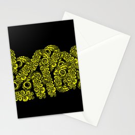 Green Tentacles Stationery Cards