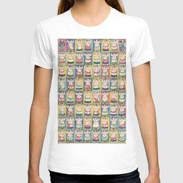 Sumo Wrestlers Japanese Vintage Print T-shirt