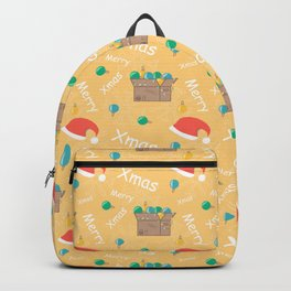 Box with Christmas decoration  Backpack