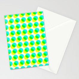 dots pop pattern 3 Stationery Cards
