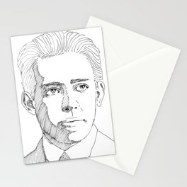 Niels Bohr sketch Stationery Cards