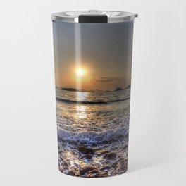 Turkey Beach Sunset Travel Mug
