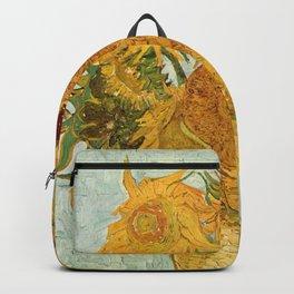 Van Gogh - sunflowers Backpack