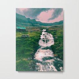 Faroese stream Metal Print
