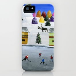 Hilly Hinterland iPhone Case