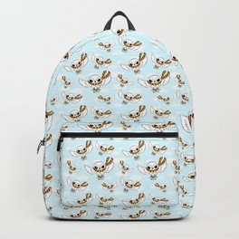wizard potter pet owl flying with scarf with magical letter  Backpack