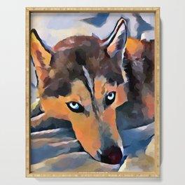 Husky 5 Serving Tray