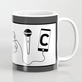 Musical word Coffee Mug