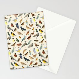 Great collection of birds illustrations  Stationery Cards