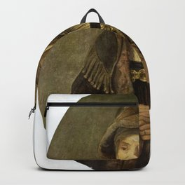 Rembrandt - Portrait of an Old Woman (Prophetess Hannah) Backpack