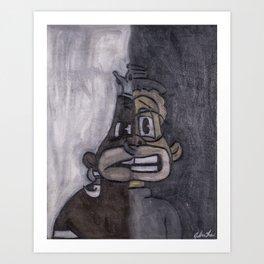 Light Ni**a/Dark Ni**a Art Print